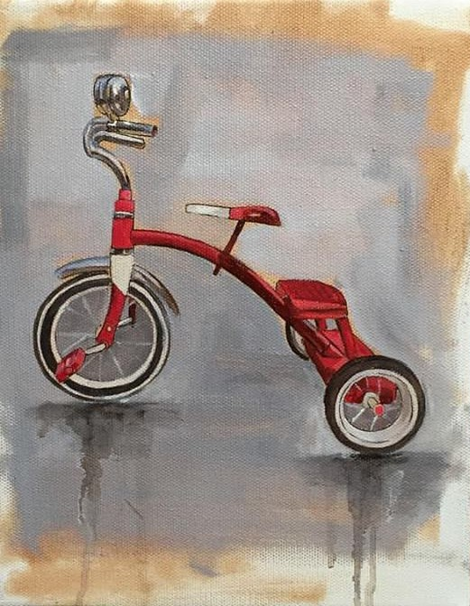 Tricycle (Print)